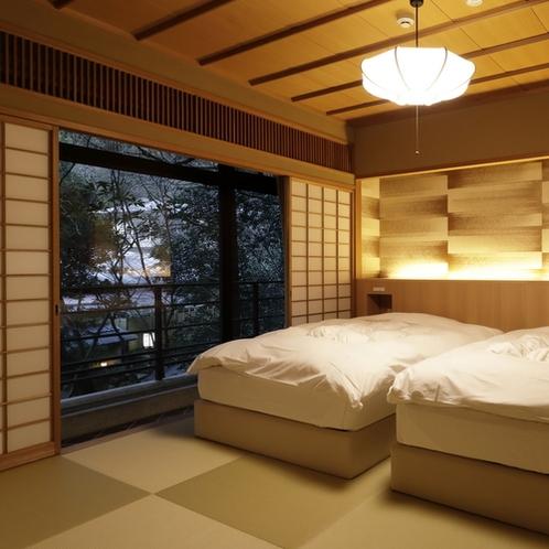 【桃山第】和室+ベッドルーム/ベッドルームは別室にございます。