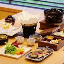 【朝食】和懐石