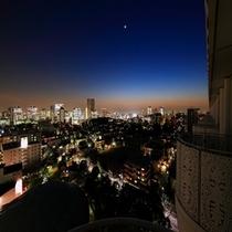 部屋からの夜景(イメージ)