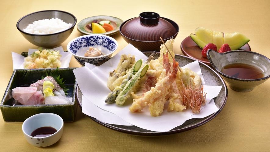 【夕食】田舎家 天ぷらコース