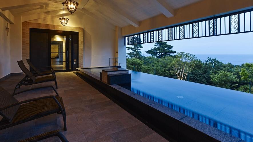 温泉施設「ブリサマリナ」女性用露天風呂