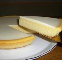 【自家製チーズケーキ】濃厚なのに、さっぱりおいしい♪