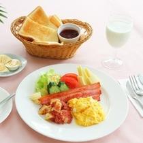 【朝食】*洋風の朝ごはん