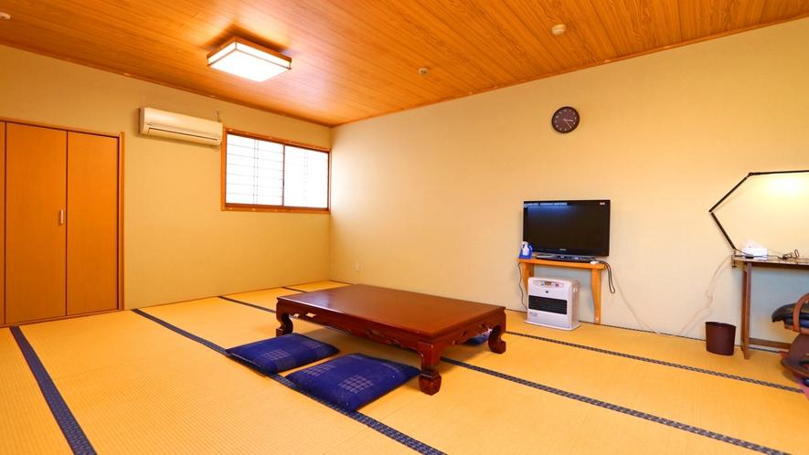【広々和室タイプ例①】お部屋は人数によって変わります