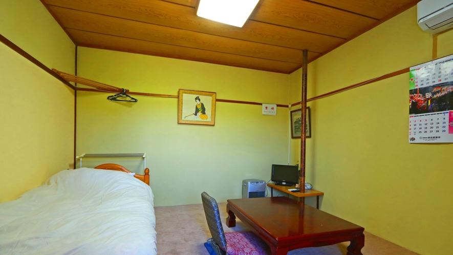 【洋室タイプ例②】形はお部屋によって異なります。