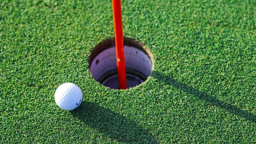 当館周辺には魅力的なゴルフ場がたくさん