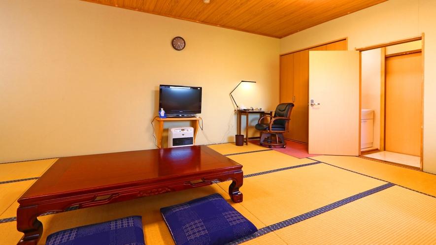 【広々和室タイプ例③】お部屋は人数によって変わります