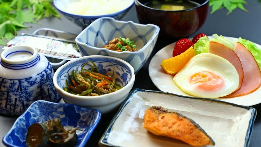 【和朝食】自慢のおいしいお米はおかわり自由!