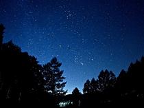宿前から見える星空2