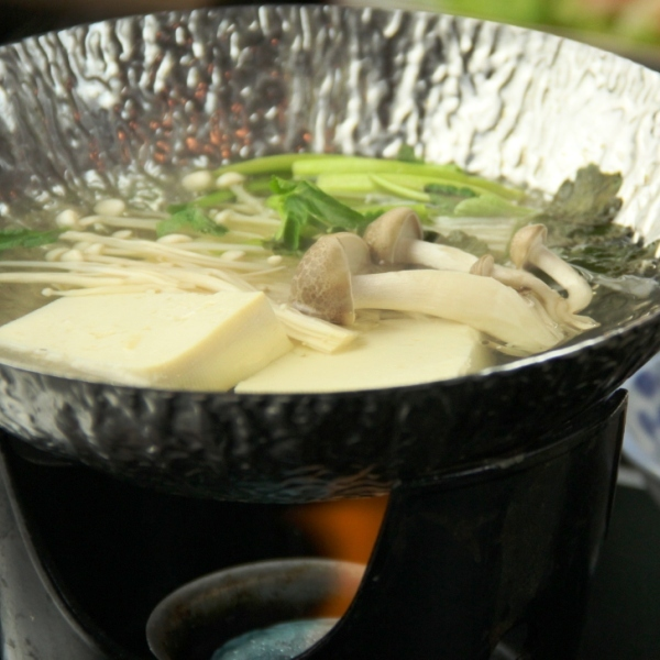 朝食_湯豆腐