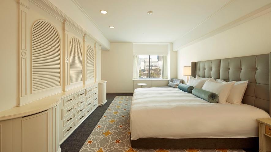 プリンセススイートルーム(4F・59平米)ベッドルーム