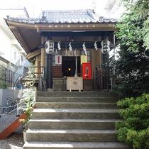 【周辺案内】飯倉熊野神社(徒歩約8分)