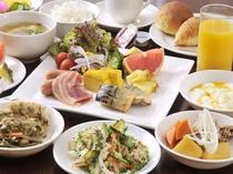 和洋琉ブッフェスタイル朝食