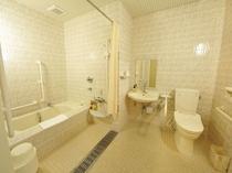 【街側】バリアフリールーム 浴室(バリアフリー仕様)