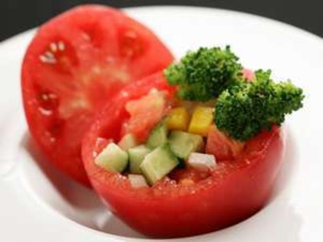 みずみずしい高原野菜の味を堪