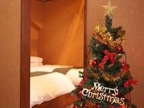 クリスマスツリーをお部屋で独占