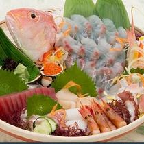 地魚貝大皿盛り
