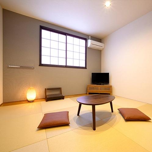 【木曽北側】 本館和室 8畳分 居間・テラスなし
