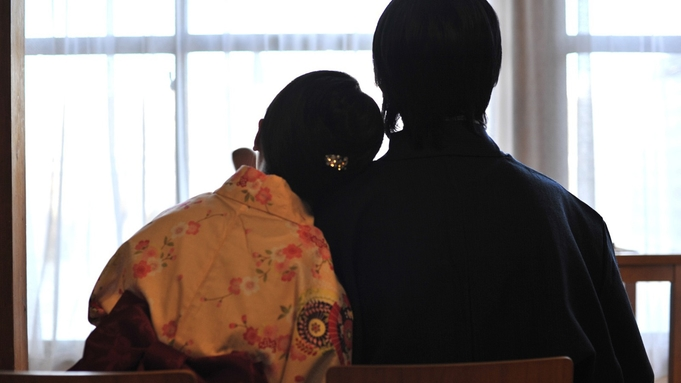 ご夕食は・ご朝食は【個室】プライベート重視のカップル・ご夫婦二人旅★