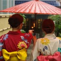 雨のみちくさ♪昭和の雰囲気が残る温泉街をぶらぶら散策