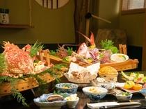 【夕食】【食通が選ぶ海鮮フルコースプラン】冬季Ver,