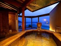 【温泉】貸切露天風呂「鶴亀の湯」 ※無料でご利用できます