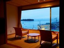 和室10畳 景色一例です。