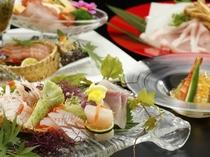 【夕食】季節の創作料理一例