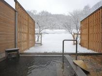 貸切温泉雪見露天風呂