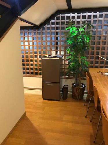 旅館1階の冷蔵庫