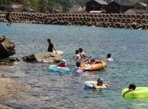 あまるべ浜 海水浴