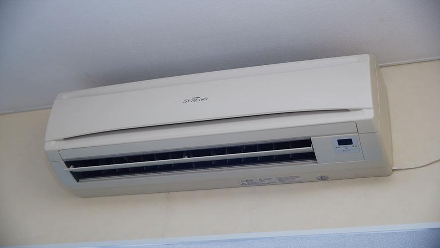 【客室一例】全室エアコン完備