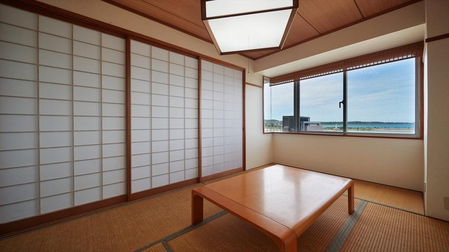 【3階~4階和洋室◇客室一例】畳のお部屋でゆったりできます