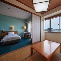 【和洋室◇客室一例】広々としたお部屋で素敵な時間をお過ごしくださいませ