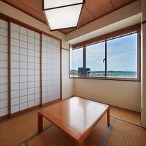 【和洋室◇客室一例】畳のお部屋でゆったりできます