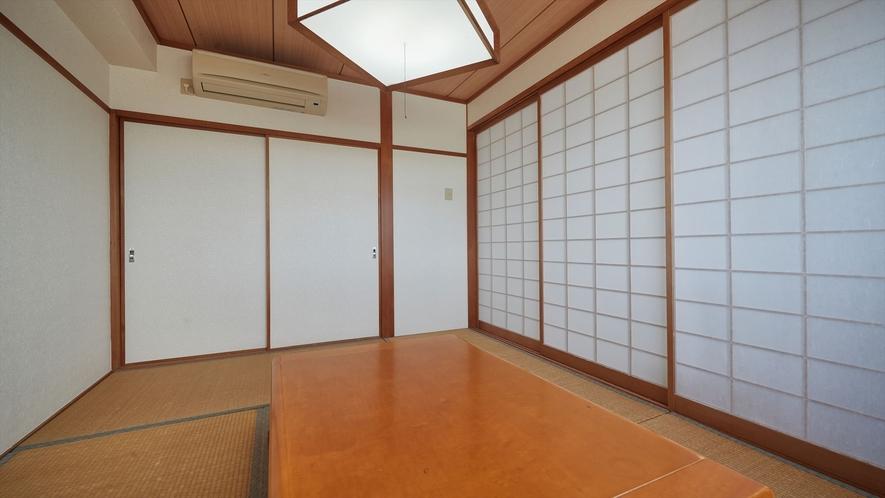 【3階~4階和洋室◇客室一例】ふすまを閉めてご利用いただくことも可能です