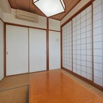 【和洋室◇客室一例】ふすまを閉めてご利用いただくことも可能です