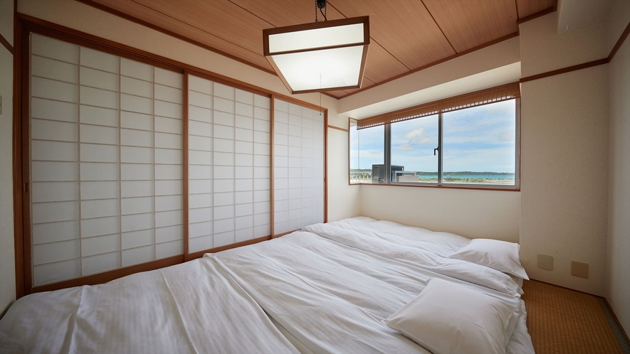 【3階~4階和洋室◇客室一例】布団で雑魚寝が楽しめます♪