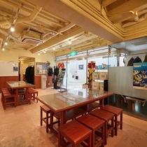 【地下1階◇ダイビングルーム】ダイビングサービスをご用意しております♪