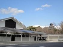 城彩苑と熊本城