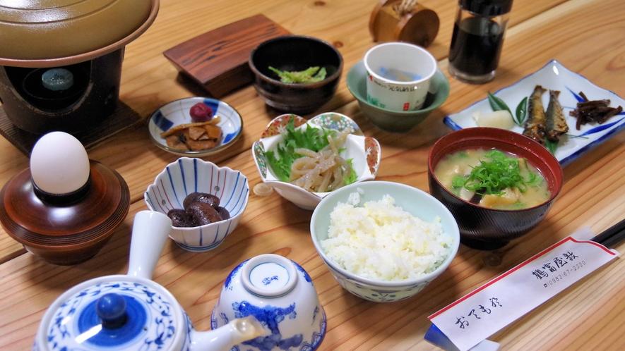*【食事】朝食一例 地元の旬の食材がたっぷり★