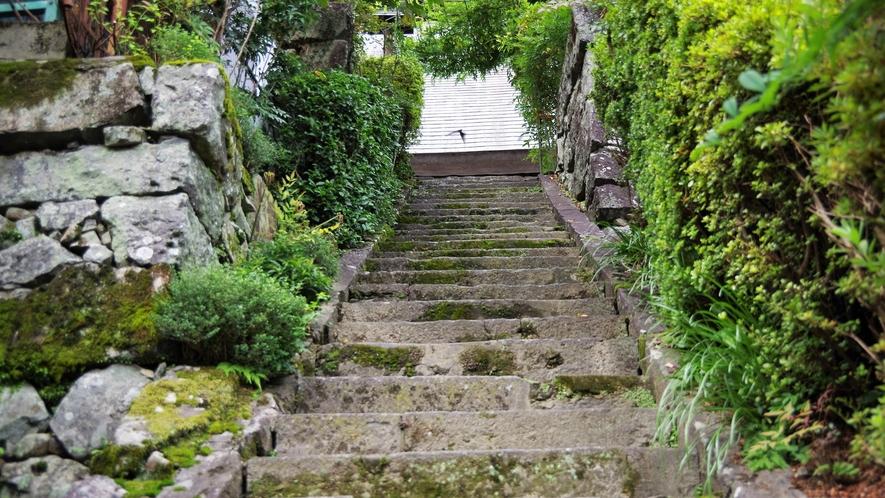 *【施設周辺】お庭をお散歩♪