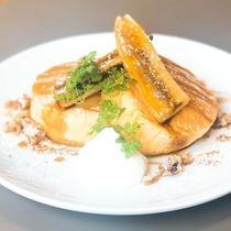リコッタチーズパンケーキ(iki ESPRESSO)