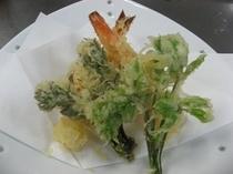 山菜の天ぷら