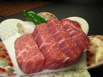 陶板焼プランのお肉