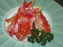 生たらばの「焼き蟹」