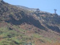 那須岳のロープウェー