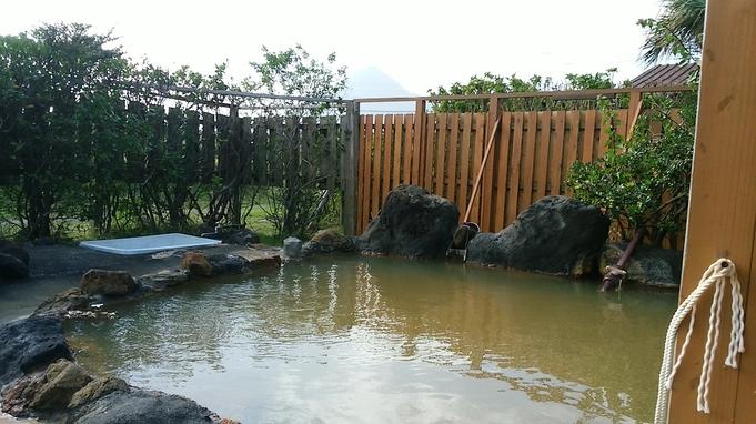 天然温泉露天風呂、朝食付き プラン