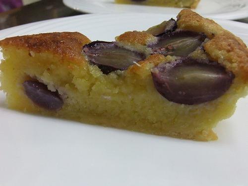 フルコースディナー(デザート)|葡萄のタルト