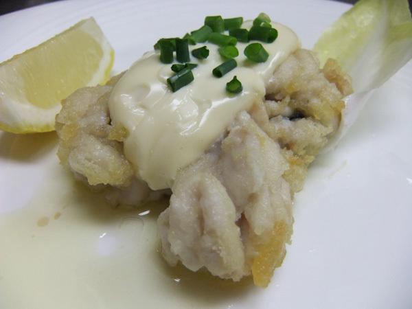 フルコースディナー(魚料理)|真タチのソテー